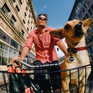 vélo et chien