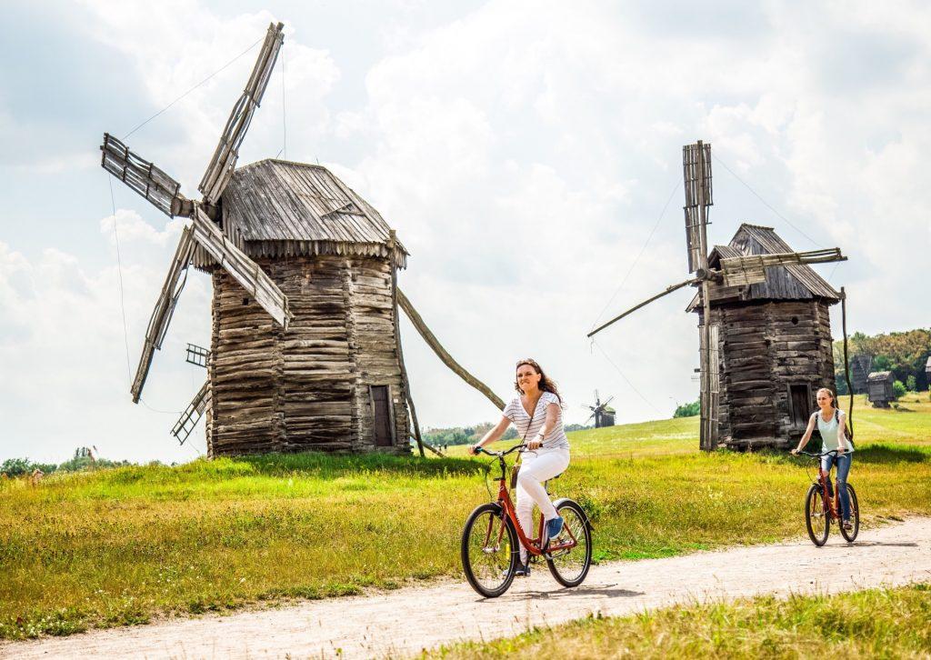 vélo moulin